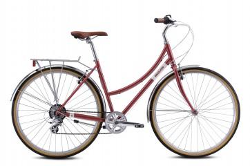 Breezer DOWNTOWN EX ST Citybike Rhubarb Rot