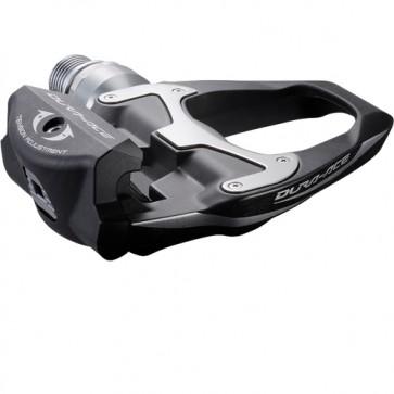 Dura-Ace Pedal Shimano 9000 lange Achse  SPD-SL Carbon