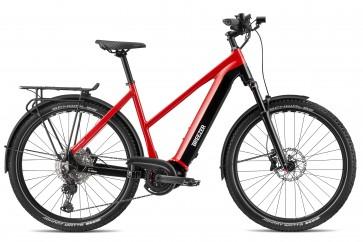 Breezer POWERWOLF EVO 1.1+ SM ST E-bike Rot/ Schwarz 625 WH CX Motor