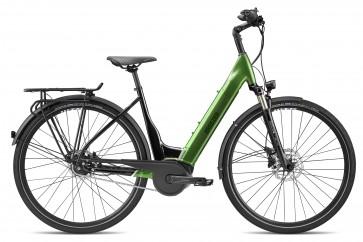 Breezer POWERTRIP EVO IG 2.3+ LS E-bike Schwarz/ Forest Grün