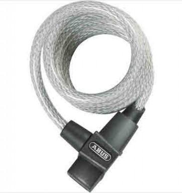 Abus  PRIMO 590 Spiralkabelschloss crystal