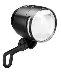 B+M IQ-XS LED-Scheinwerfer 70 Lux Alu-Gehäuse schwarz Sensor-Automatik