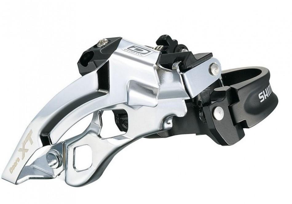 NEU Shimano Deore XT FD-M780A Umwerfer 34,9mm 31,8mm Schelle Low Clamp 3x10