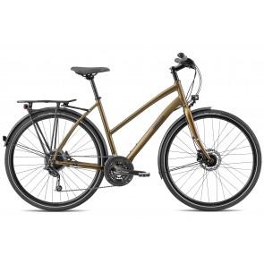 Breezer LIBERTY R1.3+ ST Trekkingrad Matt Gold/ Schwarz
