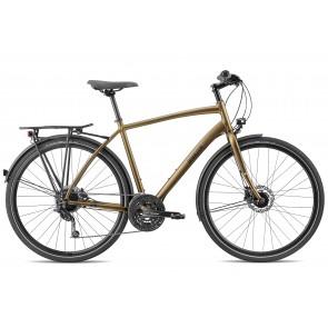 Breezer LIBERTY R1.3+ Trekkingrad Matt Gold/ Schwarz