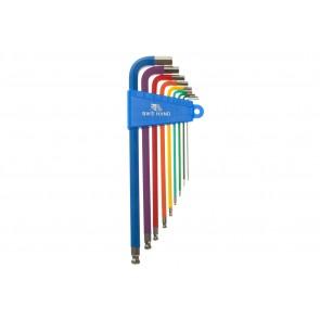 BikeHand Werkstattbedarf Farbige Innensechskant Schlüssel Größen: 15 - 2