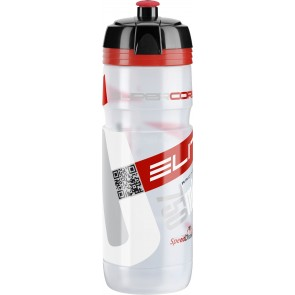 ELITE Trinkflasche SUPER CORSA CLEAR Logo rot 750ml