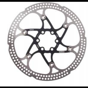ELVEDES Bremsscheibe FX18 Rotor | 180 mm | 6-Loch | Edelstahl/Alu | 132 g