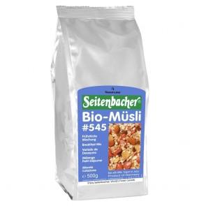 Seitenbacher Müsli Bio Frühstücks-Mischung 500g Bio-Vollkornflockenmisch
