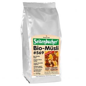 Seitenbacher Müsli Bio Schoko Müsli 500g mit 27% Schokolade (laktosefrei
