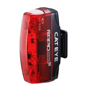 Cat Eye LED Rücklicht Rapid Micro G TL-LD 620G 2Leds Li-Ionen Akku