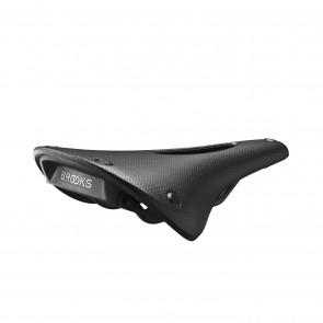 Brooks C15 Carved Cambium - black  -  Maße: L 283 x B 140 x H 52 mm