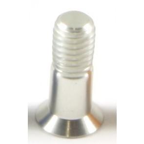WF-MTBE Schaltwerk Schraubensatz silber für Schaltungsrollen 2 x M5 Alu 70