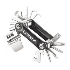 Lezyne Multifunktionswerkzeug RAP-20schwarz Werkzeuge: Chrom VanadiumAlu. S