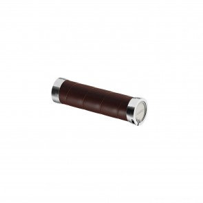 Brooks Slender Leather Grips - brown  -  Griffe: 130 mm