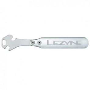 LEZYNE Werkzeug High-End Werkstattbedarf CNC Pedal Rod Shop Tool silber hoc