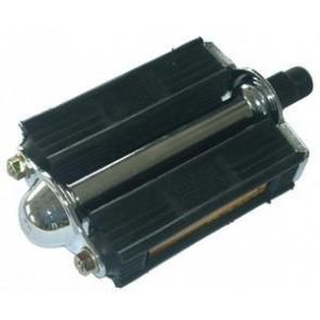 MKS '3000 R' klass. Gummiklotzpedal 10cm breit mit Reflektoren Konuslager