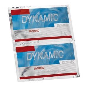 Dynamic Ketten-Erfrischungstuch - Sachet (inklusive Trockentuch)