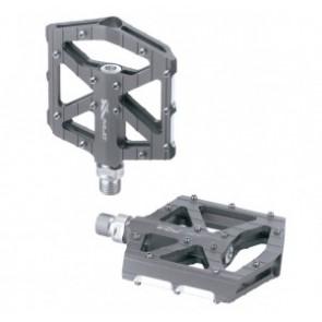 XLC MTB/Trekking Pedal PD-M12 Alu, titan-farbig
