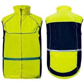 Sportweste -L- gelb, 3M-Reflex
