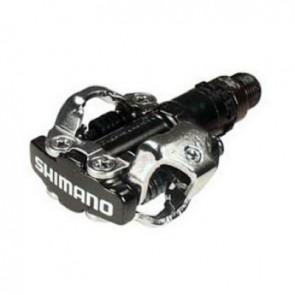 Shimano, Pedale, MTB, PD-M520-L, schwarz, CrMo-Achse, doppelseitige SPD-Bin