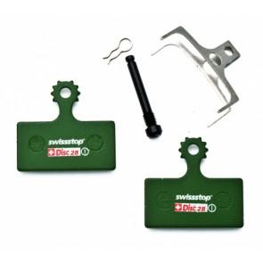 N) Swissstop Disk Brake Pads - gesintert für Shimano XTR 2011 (disc28S)