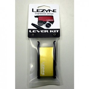 LEZYNE High-End Flickzeug & Reifenheber LEVER KIT GOLD Dose Aluminium 9 Fli