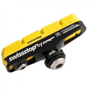 SwissStop Bremsbelag Race Flash Pro FULL Bremsschuh Yellow King für Carbon