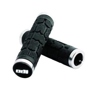 ODI Bonus Pack Rogue lang 130mm2 Griffe schwarz silberne Klemmringe