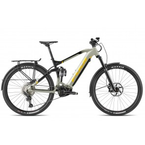 Fuji BLACKHILL EVO 29 EQP E-Bike Fully Nass Grau/ Schwarz flop Lack