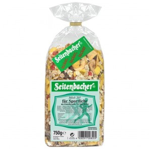Seitenbacher Müsli For Sporty People 500g ballaststoffreiche Vollkornflock