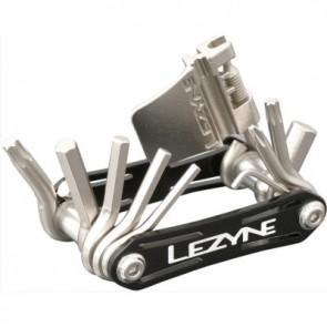 LEZYNE Werkzeug High-End Multitool  RAP-13 Teile schwarz eloxierte Seitenpl
