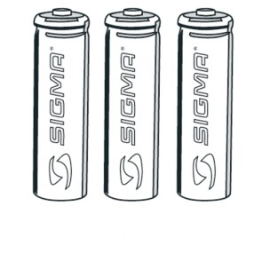 Sigma Batterie 3x TYP AAA