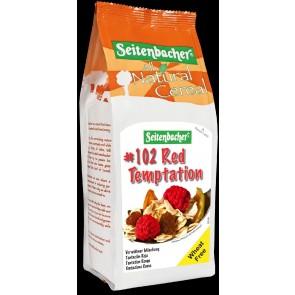 Seitenbacher Müsli Red Temptation 500g mit Hafervollkornflocken Rosinen Ge