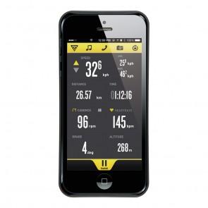Topeak RideCase for iPhone 5 schwarz  -  Befestigung: Headset Befestigung;M