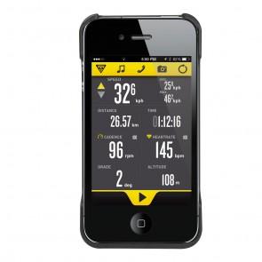 Topeak RideCase für iPhone® 4/4S schwarz  -  Befestigung: Headset Befesti