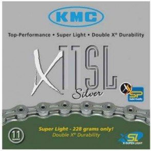 KMC Fahrradkette X-11 SL SILBER  11-fach