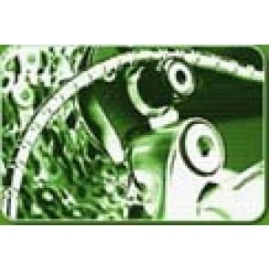 NOKON Schaltaußenhülle MTB und Trekking silber 140cm gesamt (KON05015)