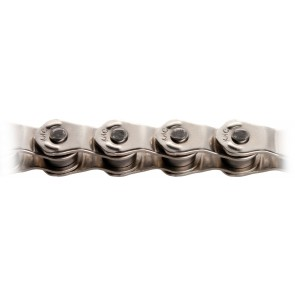 KMC Kette HL-710 1/2x1/8 Silber Half Link Design BMX