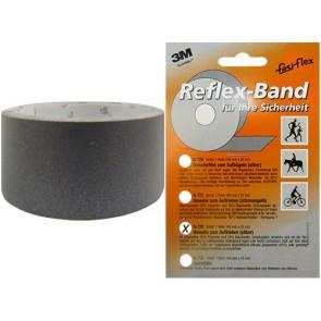 Reflexband, selbstklebend silber, Rolle 1m x25mm