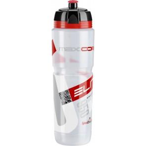 ELITE Trinkflasche MAXI CORSA CLEAR Logo rot 950ml