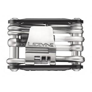 Lezyne Multifunktionswerkzeug RAP-15 LEDschwarz Werkzeuge: Chrom VanadiumAl