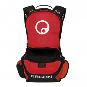Ergon BE1-L Enduro Protect black/red  -  Features: Inklusive Rückenprotekt