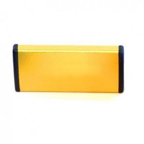 LEZYNE High-End Flickzeug METAL KIT GOLD Dose Aluminium 6 Flicken selbstkle