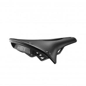 Brooks C17 Carved Cambium - black  -  Maße: L 283 x B 162 x H 52 mm