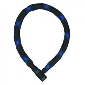 Abus Schlösser Kettenschloss IVERA Chain 7210 schwarz-blau Maximum Level 8