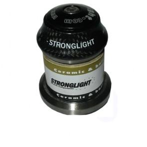 Strongl. Steuersatz LIGHT'IN Ceramic Lag  schwarz