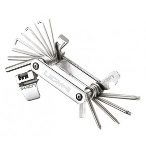 Lezyne Multifunktionswerkzeug Blox-23polish Werkzeuge: Chrom VanadiumCNC Al