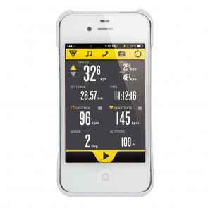 Topeak RideCase für iPhone® 4/4S weiß  -  Befestigung: Headset Befestigu