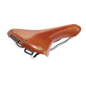 BROOKS LEDERSATTEL  STAHL SWALLOW CLASSIC HONIG